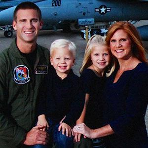 Travis Allison FA/18 Fighter Pilot