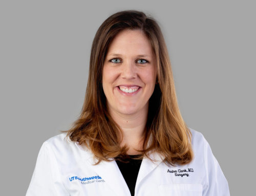 Dr. Audra Clark, Fifth-year Surgery Resident at UT Southwestern Medical Center
