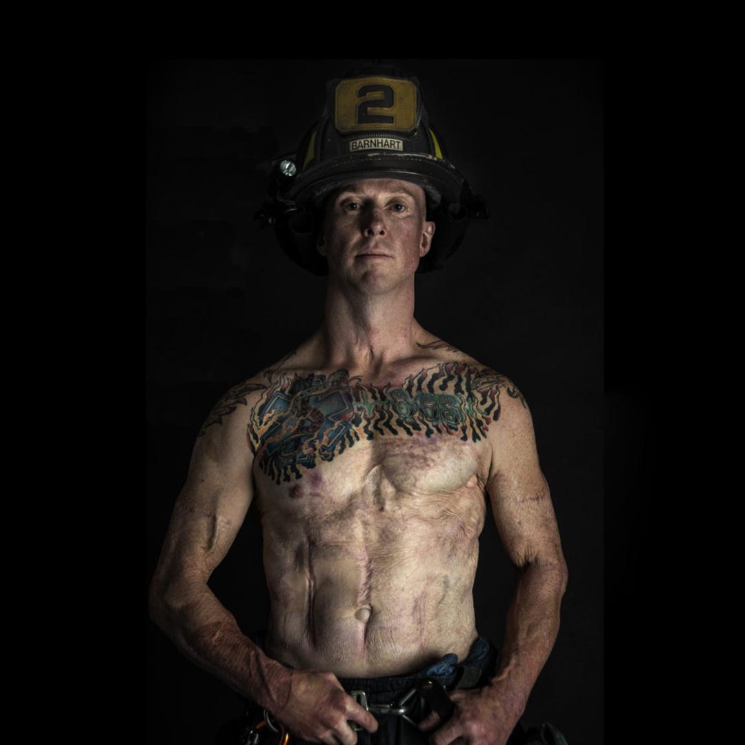 firefighter Devin Barnhart SOTF task force leader