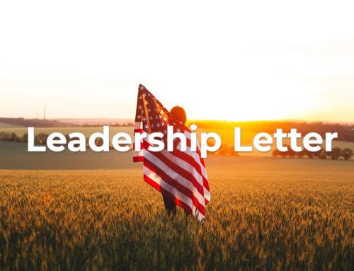 Leadership Letter – February 2020