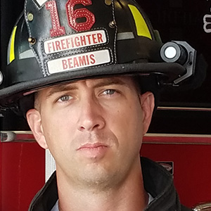 Justin beamis texas celina firefighter