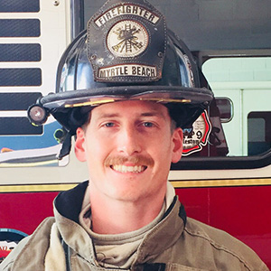 Ryan murphy south Carolina myrtle beach firefighter