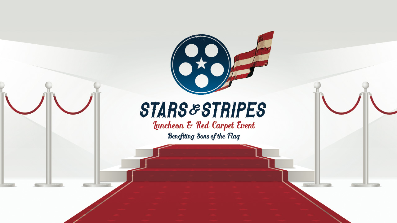 stars stripes charity auction red carpet sons of the flag